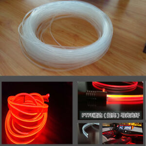12V-4M-Fiber-Optic-Interior-Lights-Car-Door-Center-Console-Ambient-Light-Decor