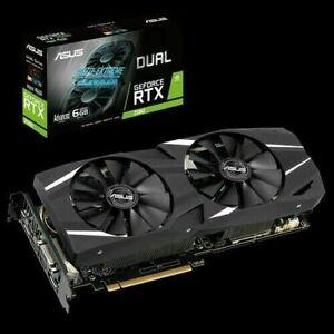 Asus GeForce RTX ™ 2060 dual evo OC 6gb NVIDIA Gaming tarjeta gráfica gpu-neu&ovp