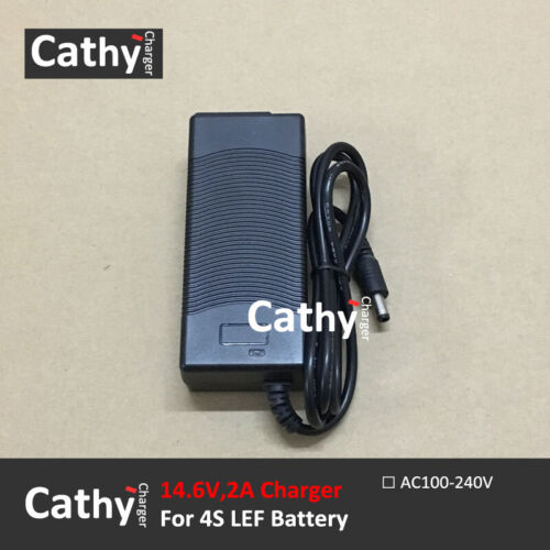 US//EU 14.6V2A,14.6V3A,18.25V2A,21.9V2A,25.55V2A,29.2V2A LiFePO4 Battery Charger