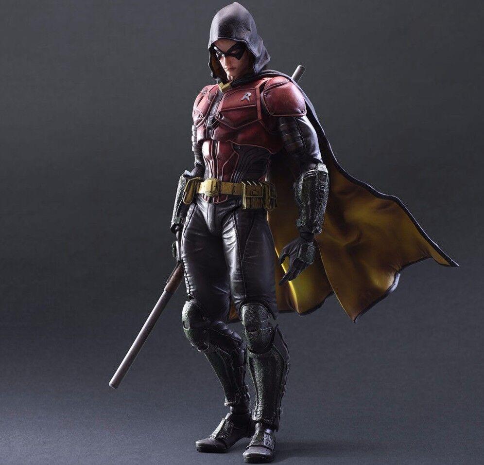 Batman  arkham ritter robin spielen kunst kai action - figur (square enix)