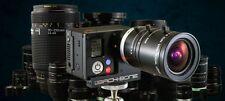 RAGECAMS MODIFIED GOPRO HD HERO3+BLACK CAMERA+RIBCAGE BACKBONE C/CS MOUNT LENS'