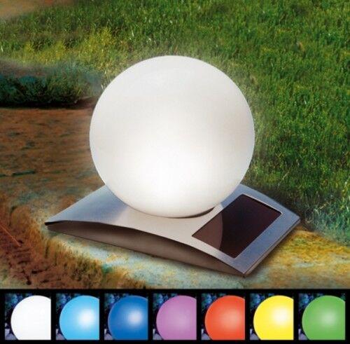 LED solaire boule lampe solaire solaire boule lumineuse solaire Lampe solaire de jardin boule balle