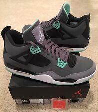 low priced a4243 84b0d item 3 Nike Air Jordan Retro 4 IV Green Glow Size 15 Black White Cement  Grey -Nike Air Jordan Retro 4 IV Green Glow Size 15 Black White Cement Grey