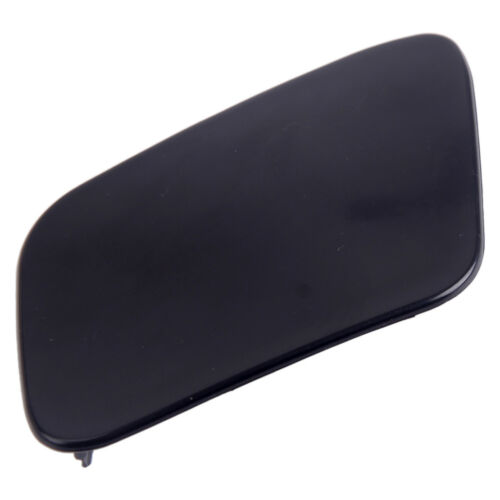 Pair Bumper Headlight Washer Cap Unpaint Cover Fit For Audi A4 B6 Quattro 02-05