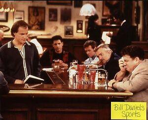 Cheers original cast Danson Colasanto Long Perlman Wendt Ratzenberger 8x10 photo