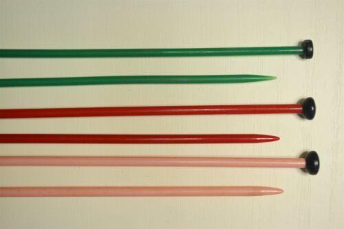 Plastic 12 gauge 2.75mm choose length//colour PATONS BEEHIVE Knitting Ndles