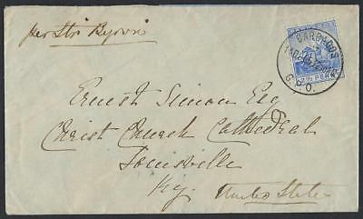 Barbadoes Us 1905 Gpo 11 6 05 Cover In Steamer Byron Franked 2 1/2d Letter Rate Delicious In Taste British Colonies & Territories