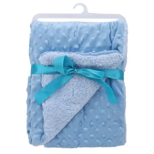 Toddler Baby Blanket Swaddling Nursery Bedding Sleeping Blankets Supplies New LA