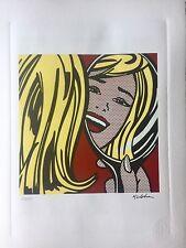 Roy Lichtenstein - Lithographie signée et numerotée .prix Galerie 350 e