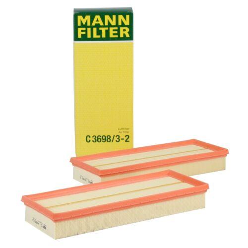 MANN Luftfilter C3698//3-2 MERCEDES W203 W204 C219 W211 W212 W463 X164 X204 uvm.
