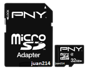 PNY-32GB-MicroSD-HC-Class-4-Flash-Memory-Card-P-SDU32G4-GE