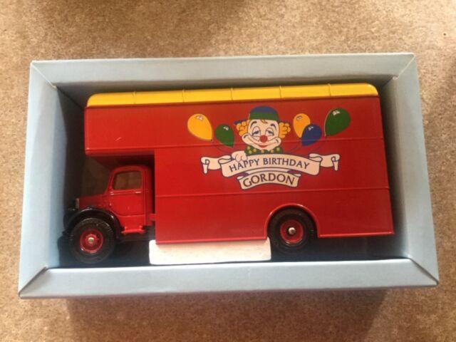 Corgi Personalised Happy Birthday Truck Gordon Item Number 97093