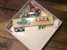 Vintage Die Cast Winross Collectible Advertising Tractor - Trailers , A.A.C.A
