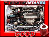 Black Red 95-99 Mitsubishi Eclipse Gst/gsx/spyder/talon 2.0l Turbo Air Intake