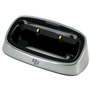 OEM NEW Blackberry Tour 9630 Bold 9650 Charging Cradle Pod Stand GENUINE