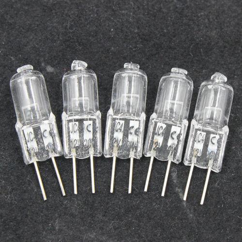 10Pcs//Set Small Bulbs Super Bright G4 Halogen Base Bulb Lamp DIY Crafts