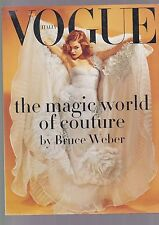 VOGUE ITALIA suppl. MAGIC WORLD OF COUTURE BY BRUCE WEBER vodianova 2008