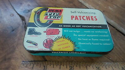 NOS DILLECTRIC SPEED PATCHES W BOX ADVERTISING SERVICE GAS STATION GARAGE TIRE