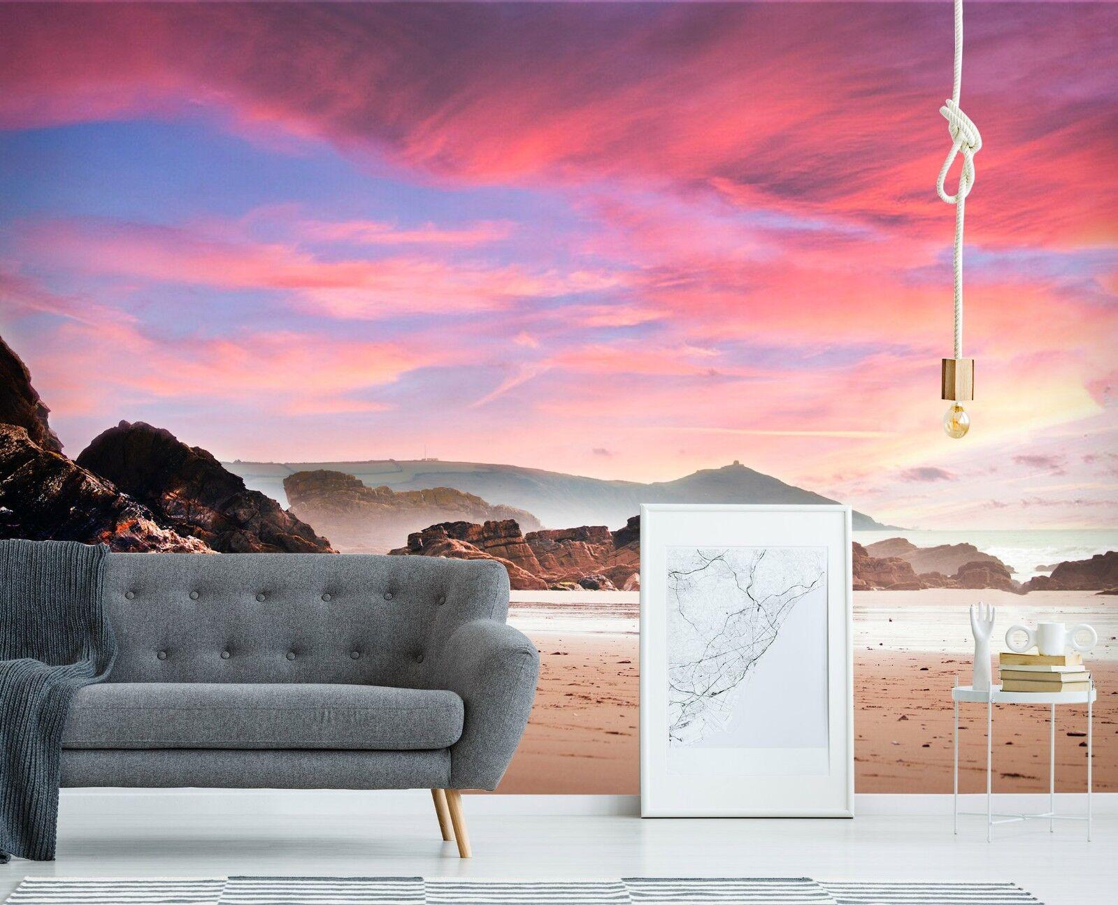 3D Rot Himmel 7087 Tapete Wandgemälde Tapete Tapeten Bild Familie DE Sidney