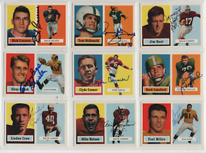 OLLIE MATSON SIGNED 1957 TOPPS ARCHIVES CARD CARDINALS AUTOGRAPH