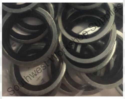 """1x BONDED SEALS DOWTY WASHERS nitrile rubber BSP 1 1//4/"""" 1.25 Extra Large Size"""