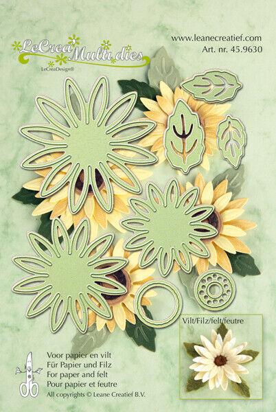 Flower Set No.2-45.8510 Lea/'bilities Multi Cutting /& Embossing Dies