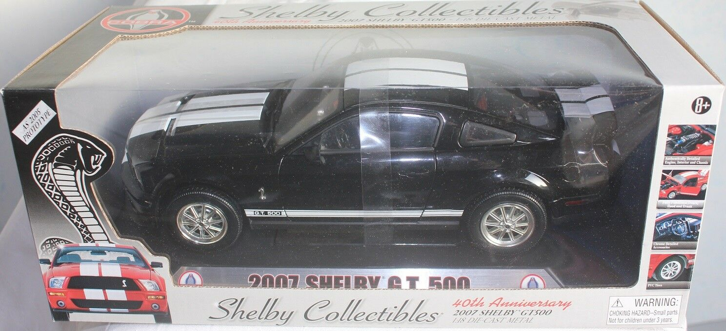 SHELBY MUSTANG GT500 2007 - 1 18  NEUF SHELBY COLLECTIBLES