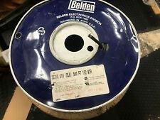 Belden 33310 10awg Braidless Silicone Hi Temp Hook Up Wire 150c 600v Black 10ft