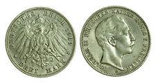 pcc1220_3)  Germania Guglielmo II Deutsches Reich 3 marchi 1909 A