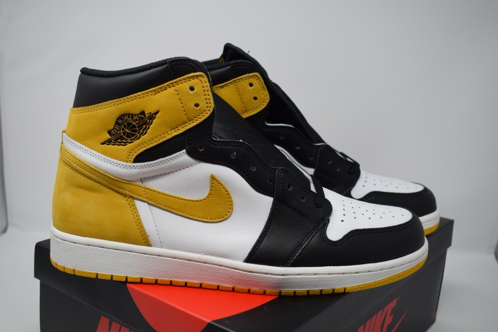 d1e1a9273dc00b Nike Air Jordan 1 Retro High OG Yellow Ochre Ochre Ochre Best Hand in the  Game