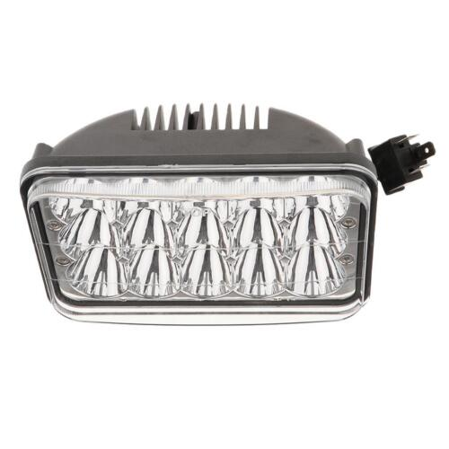 "H4 4/'/'X6/"" Universal Replacement 3060LM 45W 5500K LED Headlight Kit Aluminum"