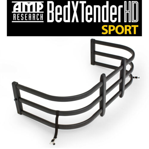 Amp Research Black BedXtender HD Fits 2005-2016 Toyota Tacoma Standard Bed