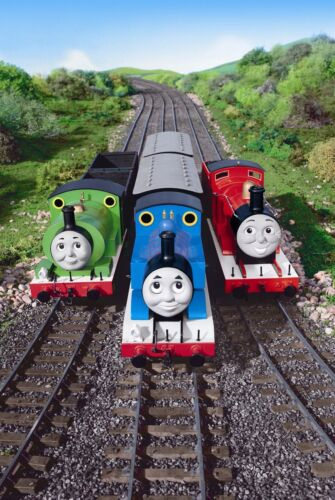 Personalised Edible Thomas the Tank Engine Cake Topper Icing or Wafer Paper