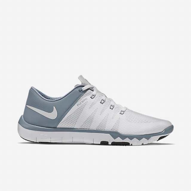 Nike Free Trainer 5.0 V6, Men's New, 19922110, White Grey