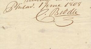 Clement-Biddle-Signature-of-the-Continental-Army-Officer-Revolutionary-War