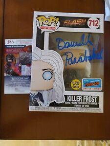 Funko Pop! SIGNED The Flash 2018 New York Comic Con LE Glow Killer Frost