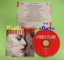 CD A WOMAN IN LOVE compilation 2001 BONNIE TYLER LULU SYLVIA  (C22*) no mc lp