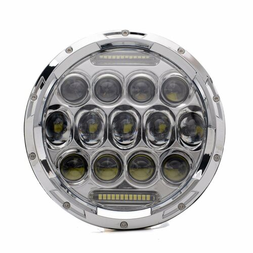 2X 7/'/' LED Headlight For Military Truck For Hummer M998 M923 Humvee Projectors