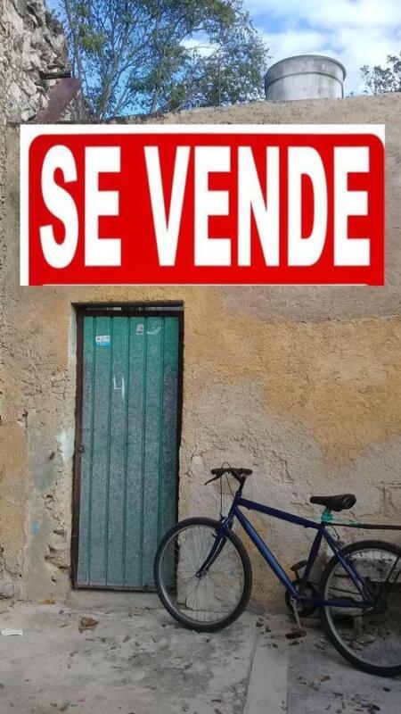 SE VENDE CASA COLONIAL EN EL CENTRO DE MÉRIDA POR LA ZONA DE LA PLANCHA
