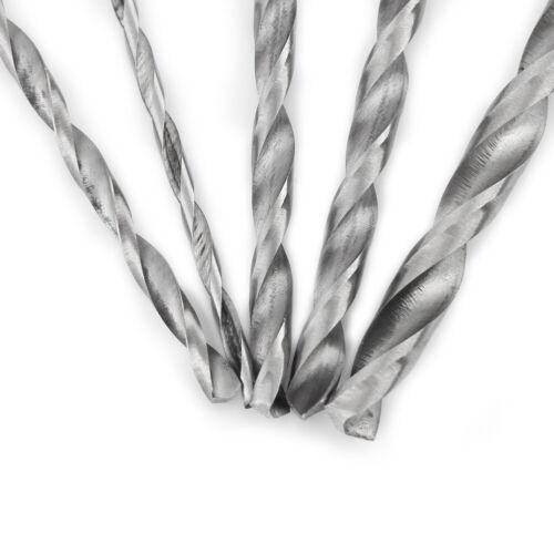 5pcs//set 2-5mm Extra Long 150mm HSS Straight Shank Twist Spiral Wood Drill Bit