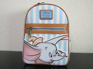 Loungefly Dumbo Striped Mini Backpack