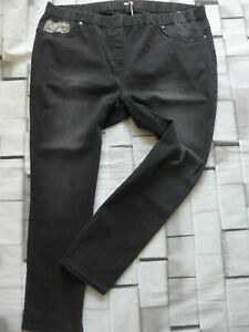 Joe-Browns-Jeans-Trousers-Jeggings-Size-44-to-58-Black-341-Elastic-Band