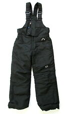 Toddler Slalom Black Ski Bib Snow Pants Size Medium