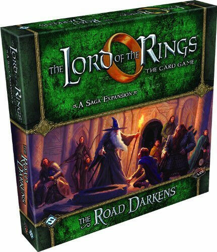 Fantasy Flight Games Lord of The Rings Expansion The Road Darkens