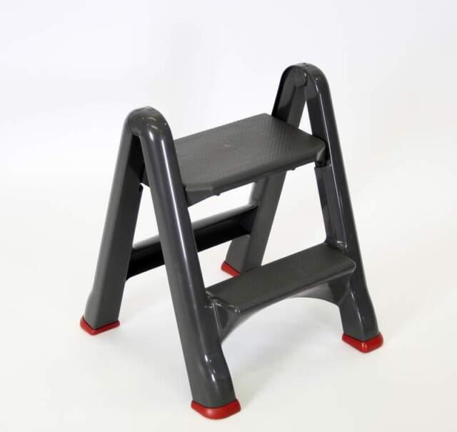 Curver A Frame 2 Tread Sturdy Plastic DIY Step Stool