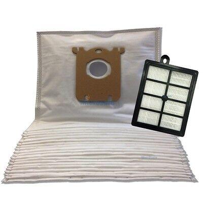 10 Staubsaugerbeutel 1 HEPA Filter für AEG VX8-1-IW-AUltraSilencer X Silence