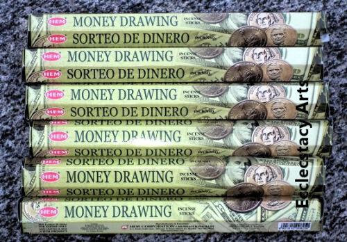 Hem Money Drawing Incense 20-40-60-80-100-120 Sticks You Pick Amount {:- NEW
