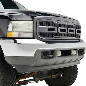 99 04 Raptor Style Grille For 99 04 Ford Excursion Charcoal Gray Ebay