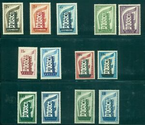 EUROPA-1956-Complete-Yearset-NH-6-countries-Scott-357-10