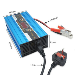 12V-30A-LCD-Leisure-Battery-Charger-Caravan-Motorhome-Boat-car-batterys